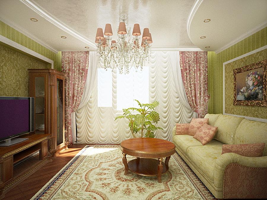 Вітальня в квартирі дизайн